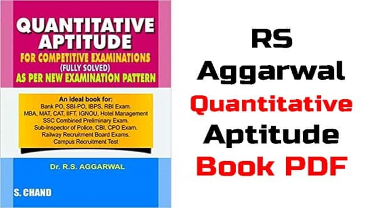 Download RS Aggarwal Book Chapterwise